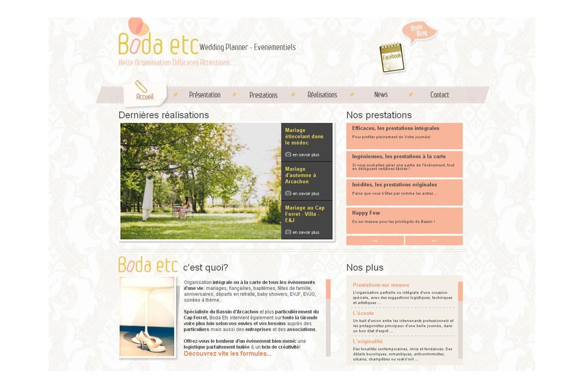 Création de site internet évènementiel Bordeaux, Paris, Monaco