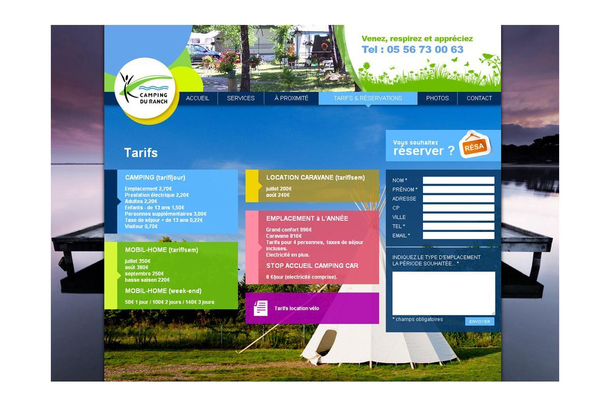 Création site internet tourisme bordeaux