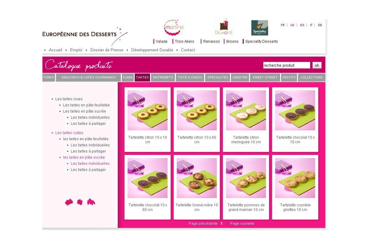 création site internet agro-alimentaire paris