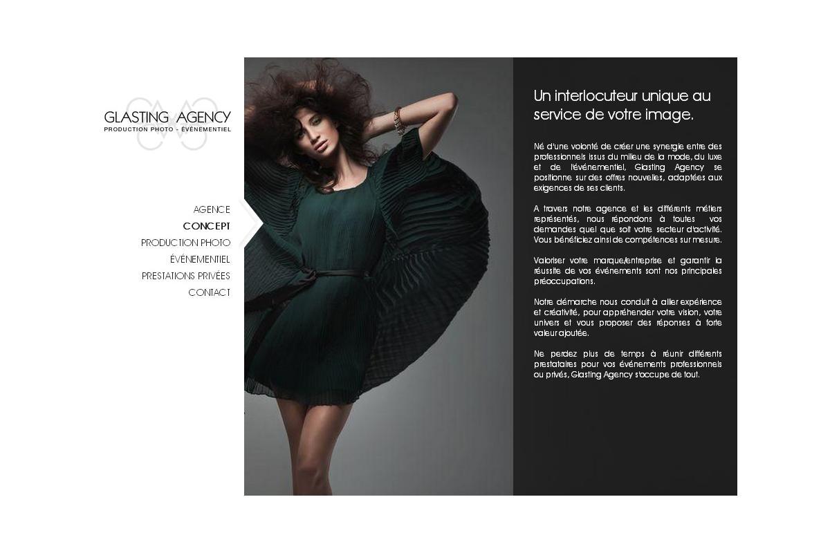 Découvrez Glasting Agency, une agence de production photo & évenementiel qui fait parler d'elle sur Paris ! Un site développé par Adelysnet ! http://www.glasting-agency.com
