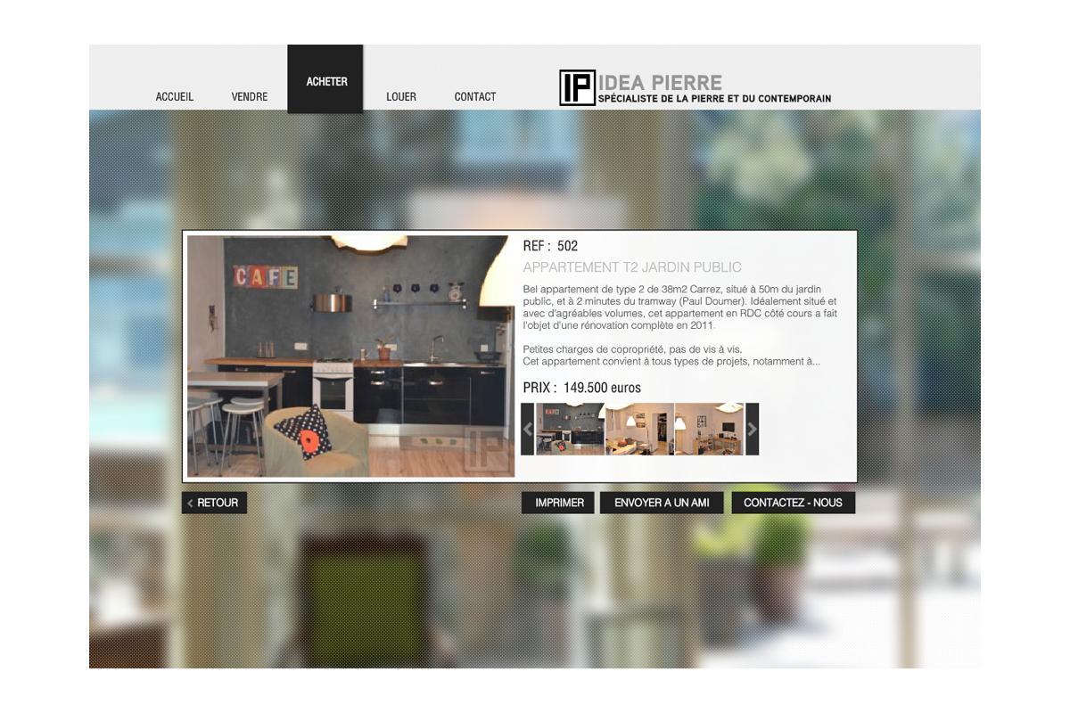 création site internet agence immobilière Monaco, Nice