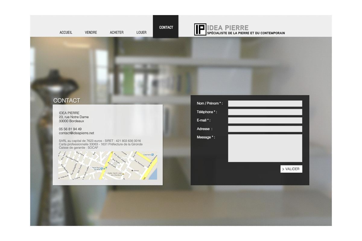 création site internet agence immobilière Paris