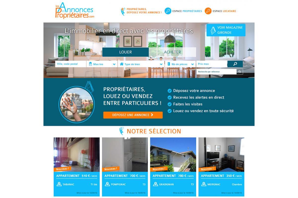 Création de portail immobilier, création de passerelle logiciel immobilier Bordeaux