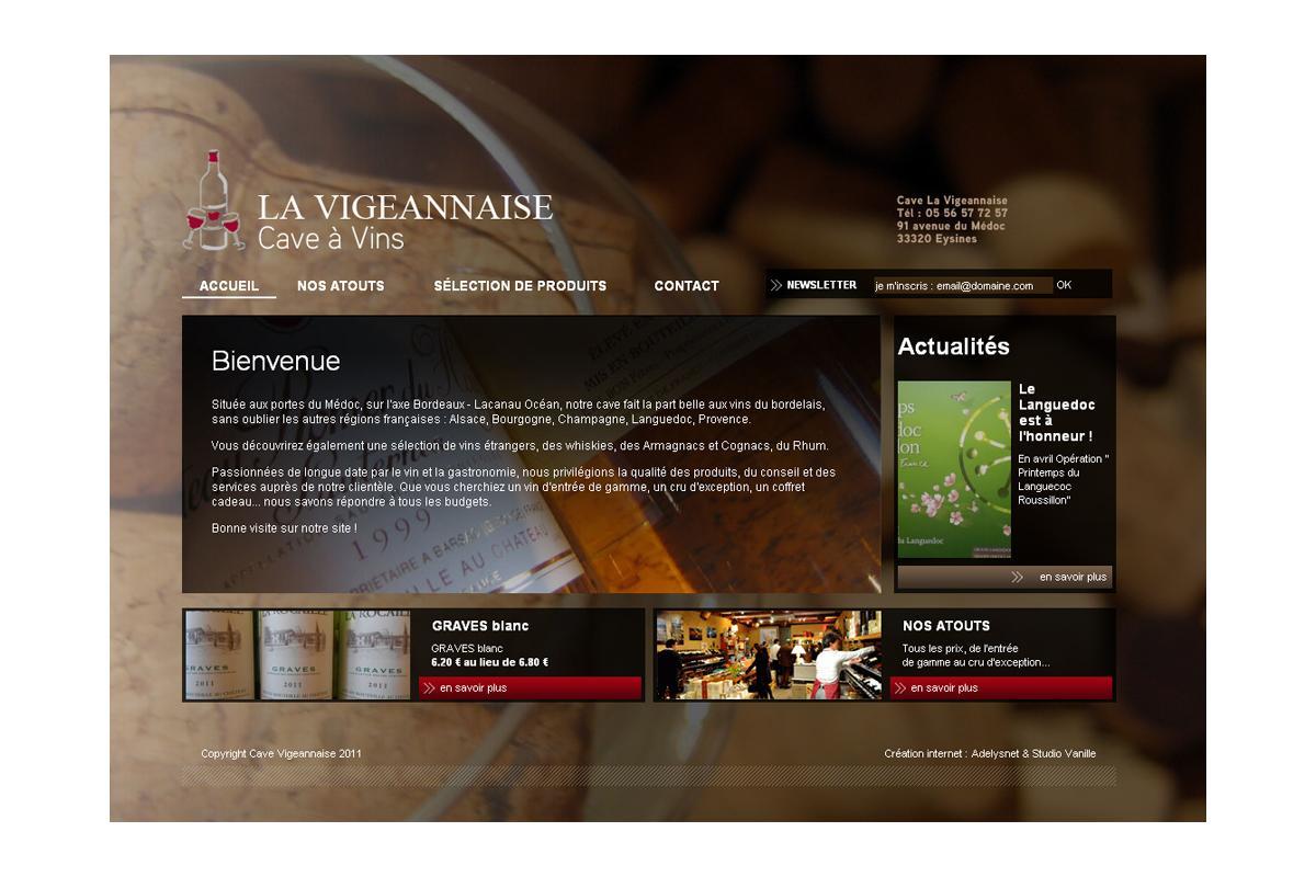Création boutique e-commerce vignobles bordeaux